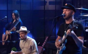 Tonight Show with Ben Harper & Tom Morello