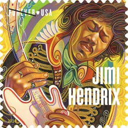 Jimi Hendrix USPS Forever Stamp Celebration Austin, TX Part One