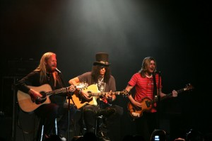 Live with Jerry Cantrell & Slash in NYC